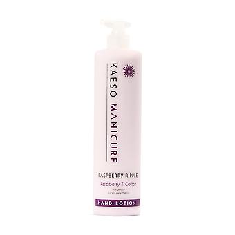 Kaeso Manicure Raspberry Ripple mano Lotion 495ml
