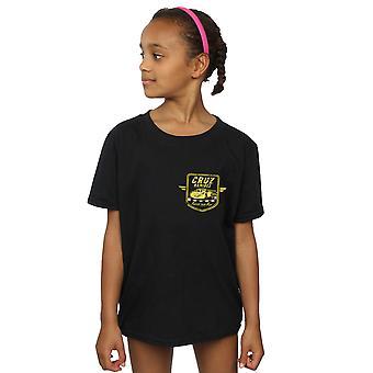 Disney Girls Cars Cruz Ramirez Faux Pocket Logo T-Shirt