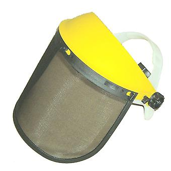 Face Shield Mesh Visor & Browguard Ideal For Brushcutter Strimmer Trimmer Shield