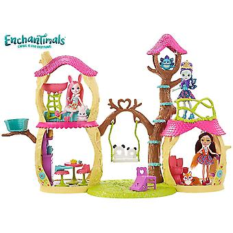 Mattel Enchantimals Casa Divertida Muñecas