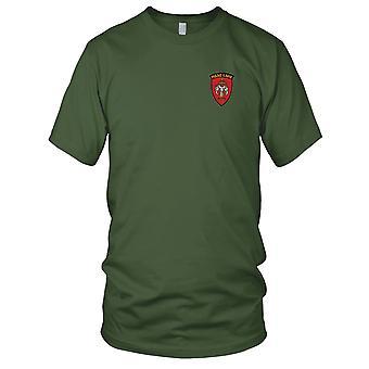 Military Assistance Advisory Group Laos gestickt Patch - Herren-T-Shirt