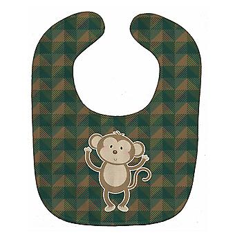 Carolines schatten BB7025BIB Monkey Baby slabbetje