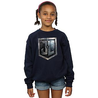 DC Comics flickor Justice League film sköld Sweatshirt