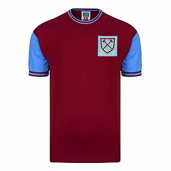 West Ham United FC Herre officielle 1966 nr 6 Replica trøje