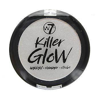 W7 Killer Glow Highlight Shimmer Strobe Powder-Crime Sheen