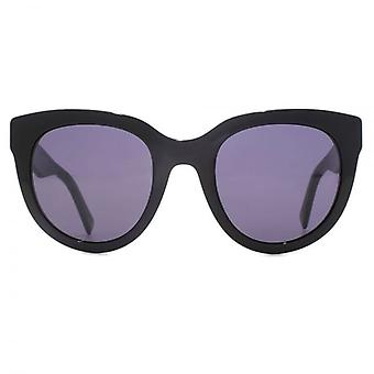 Marc Jacobs Cateye Sunglasses In Black Glitter