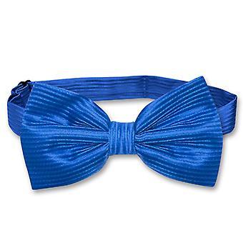 Vesuvio Napoli BOWTie Horizontal Striped Design Men's Bow Tie