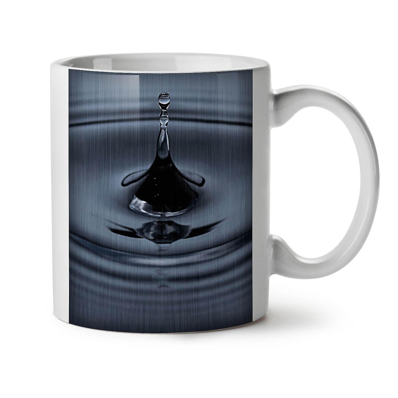 Nature Thé Céramique Art Tasse L'eau OzWellcoda Café Goutte Blanc 11 Nouveau EDH2IW9Y