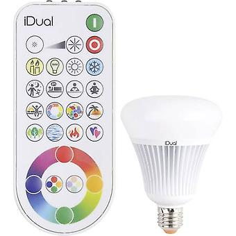 LED E27 Globe 16 W = 75 W RGBW (Ø x L) 100 mm x 138 mm EEC: A JEDI Lighting dimmable, colour-changing 1 pc(s)