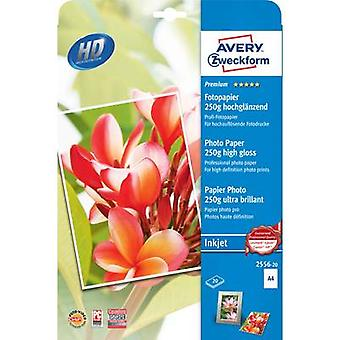 Photo paper Avery-Zweckform Premium Photo Paper Inkjet 2556-20 A