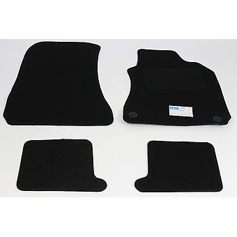 Fully Tailored Car Floor Mats - Alfa Romeo BRERA 2006-2010 Black