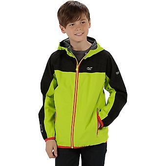 Regatta Boys & Girls Deviate Waterproof Breathable Hooded Coat Jacket