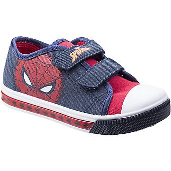 Leomil Boys & Girls Spiderman Lightweight Adjustable Casual Trainers