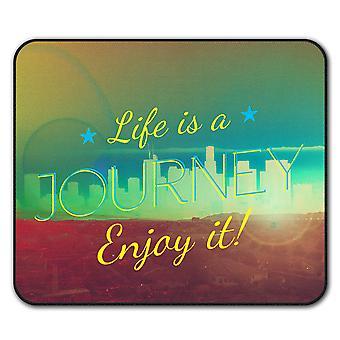 Life Journey  Non-Slip Mouse Mat Pad 24cm x 20cm | Wellcoda