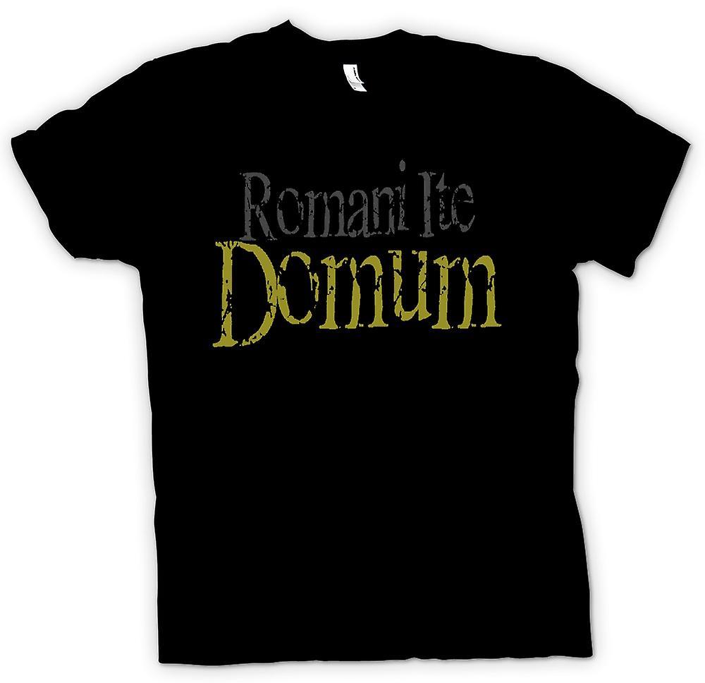 T-shirt - Romani Ite Domum - Funny