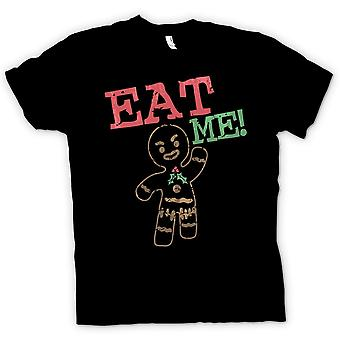 Womens T-shirt - Gingerbread Man, Eat Me - Funny