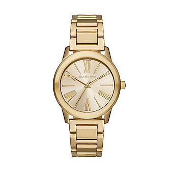 Michael Kors MK3490 Hartman Ladies' Gold-Tone Watch