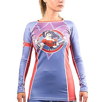 Fusion kamp Gear kvinders Wonder kvinder DC Bombshells langærmet Rashguard