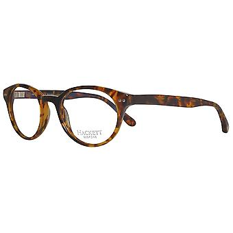 Hackett bespoke glasses mens Brown