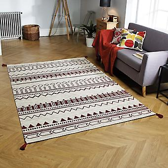 Beni Weavers Red  Rectangle Rugs Traditional Rugs