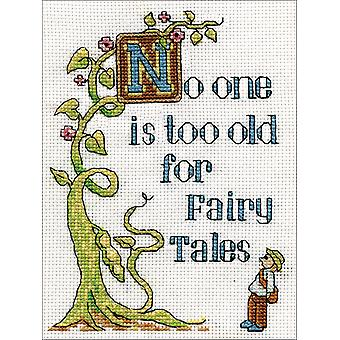 Fairy Tales Counted Cross Stitch Kit-5