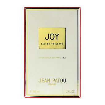 Jean Patou glädje Eau De Toilette Spray påfyllningsbara 2,0 Oz/60 ml i rutan
