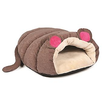 HAPPY PET KATTENMAND MUFFIN MOUSE BRUIN 50 x 50 x 17 cm