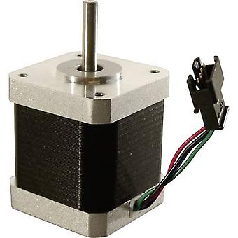 Motor X/Y/Z/Extruder incl. plug 4-pin Suitable for (3D printer): Renkforce RF1000, Renkforce RF2000, Renkforce RF2000 v2