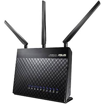ASUS RT-AC68U Wi-Fi-Router 2,4 GHz, 5 GHz 1,9 Gbit/s