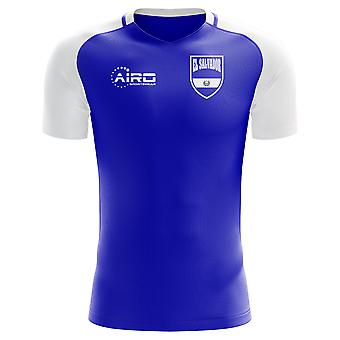 2018-2019 El Salvador Home Concept Football Shirt (Kids)