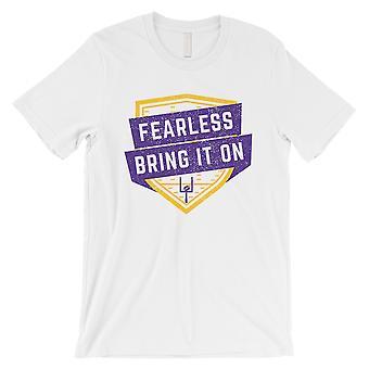 ONVERSCHROKKEN Minnesota Tshirt Mens grappig spel dag Shirt cadeau voor hem