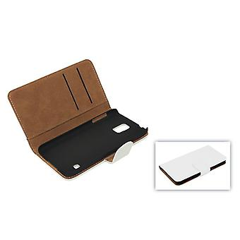 Cover case pouch (flip cross) for mobile phone Apple iPhone 6 white