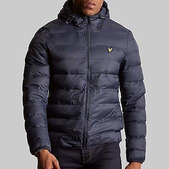 Lyle & Scott Lightweight Puffer chaqueta Navy oscuro