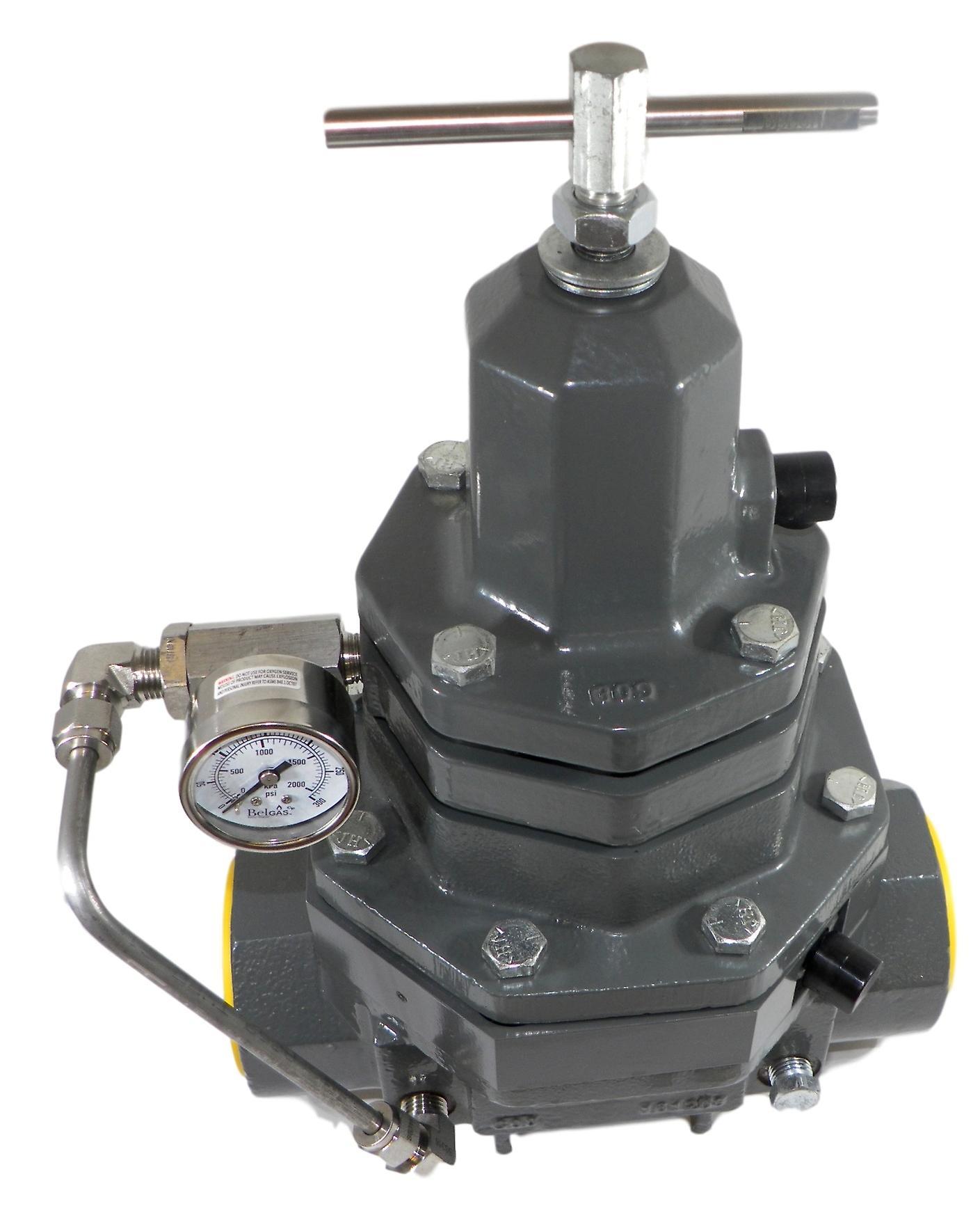 Belgas P530016SDT00N30 - P5300 2& 034; NPT Backpressure Regulator Nitrile 10-100 PSI