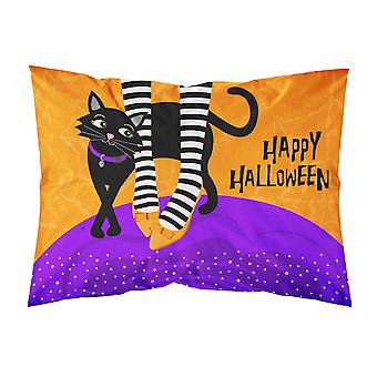 ハロウィン魔女足布標準的な枕カバー