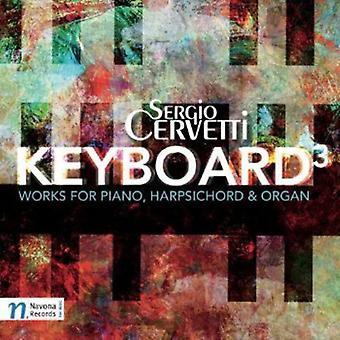 Sergio Cervetti - Keyboard3 importación de Estados Unidos [CD]