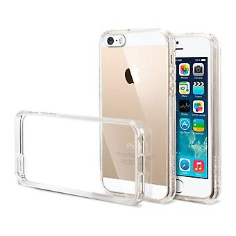 Stuff Certified® 2er-Pack Transparent klar Silicone Case Cover TPU Case iPhone 5