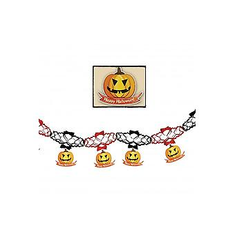 Halloween and horror  Garland Halloween with Pumpkins