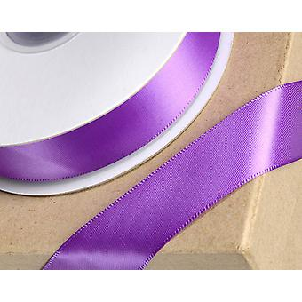 10mm Purple Satin Ribbon for Crafts - 25m   Ribbons & Bows for Crafts