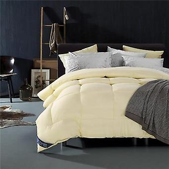 600 Thread Count-100% Cotton Comforter/quilt-ivory