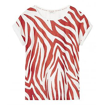 Sandwich Quirky Zebra Print T-shirt - 21101663