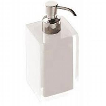 Rainbow Soap Dispenser Glossy White RA81 02