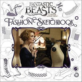 Fantastic Beasts and Where to Find Them - Fashion Sketchbook by Schola