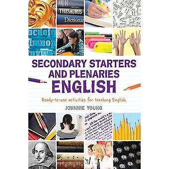 Secondary Starters and Plenaries - English - Creative Activities - Read