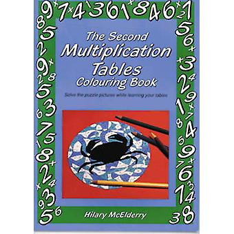 The Second Multiplication Tables Colouring Book - Solve the Puzzle Pic