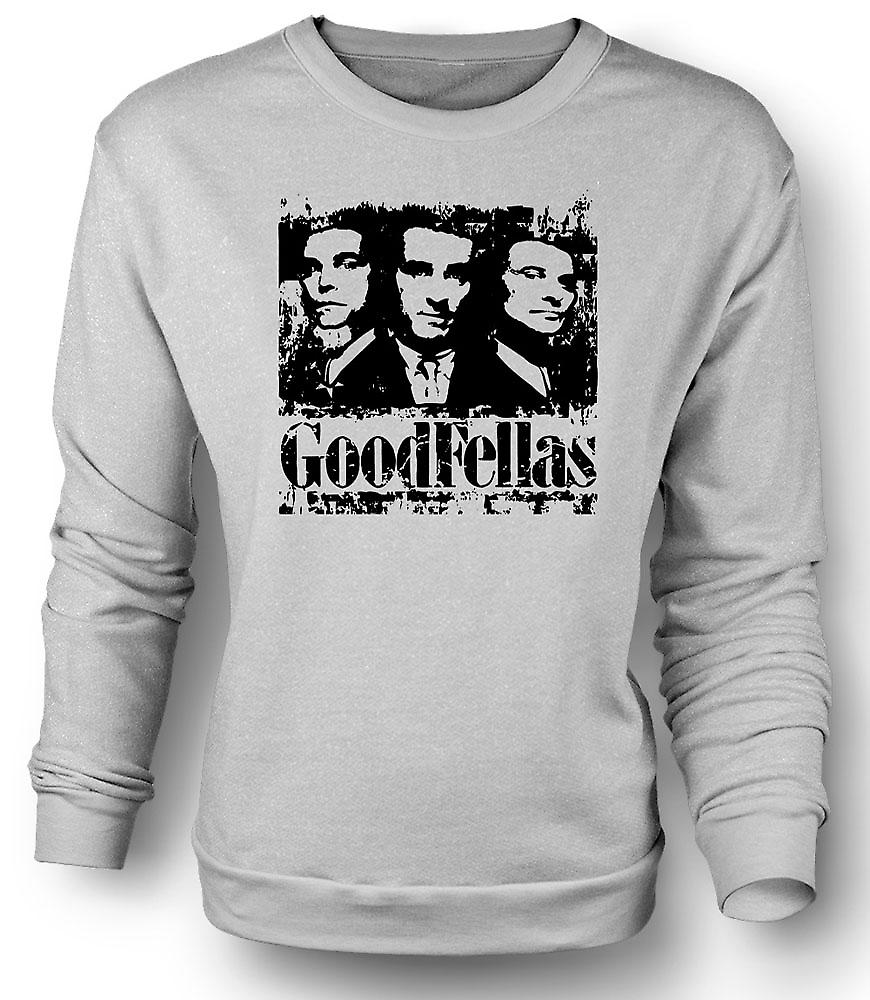 Felpa Mens Goodfellas - Mafia Distressed
