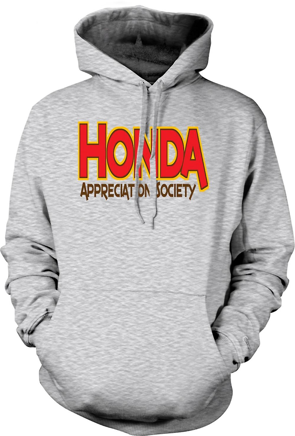 Mens hettegenser - Honda Appreciation Society
