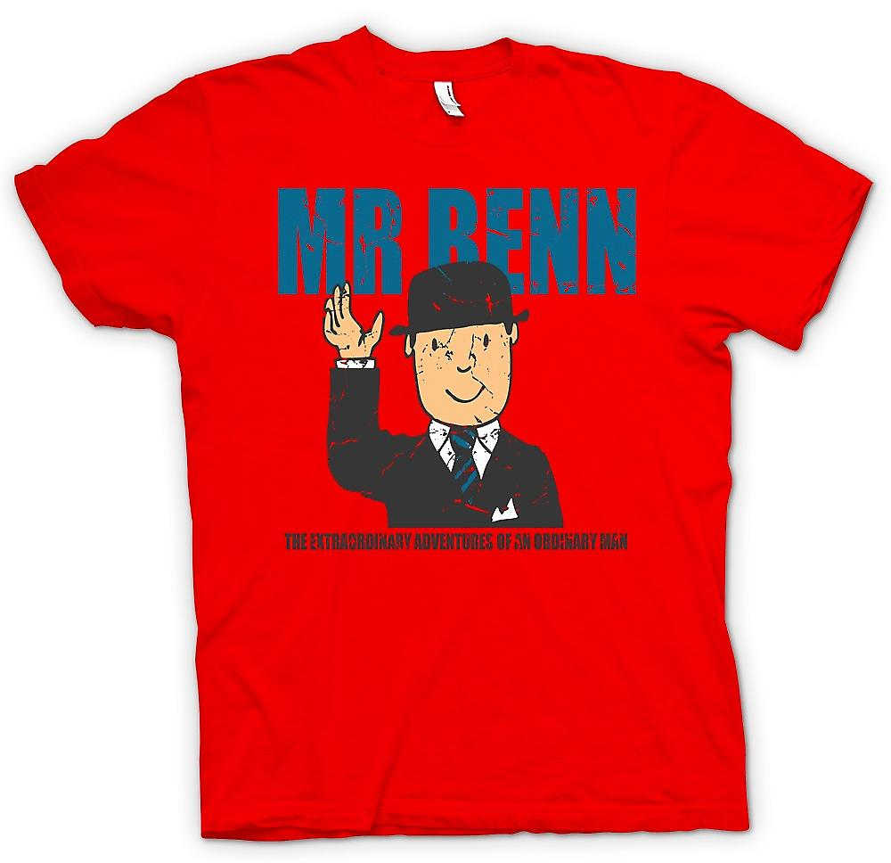Mens T-shirt - Mr Benn - Extraordinary Adventures Of An Ordinary