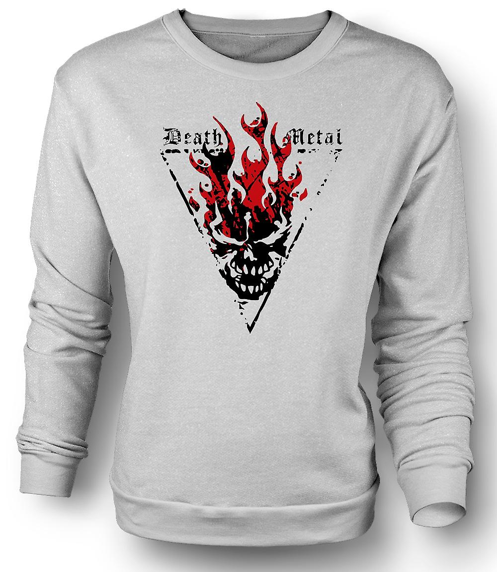 Mens Sweatshirt Death Metal - Thrash diable gothique