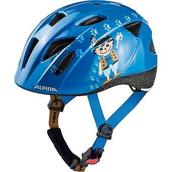 Alpina Ximo child bicycle helmet / / blue indian